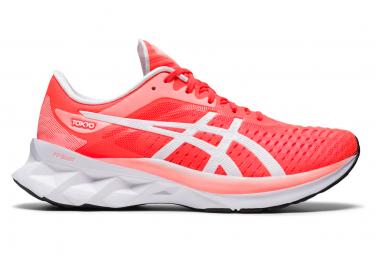 Asics Novablast Tokyo Rojo Blanco Mujer Zapatillas Running 39