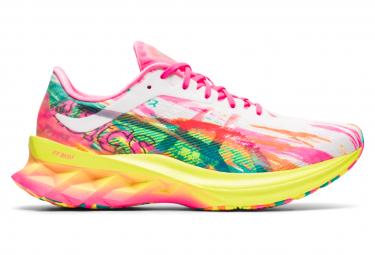 Zapatillas Para Correr Asics Novablast Noosa Rosa Multicolor Para Mujer 40