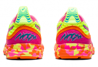 Chaussures de Running Femme Asics Gel Noosa Tri 12 Jaune / Multi-couleur