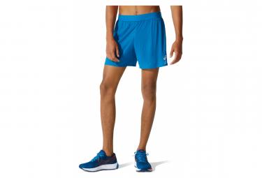 Pantalones Cortos Asics Ventilate 5in 2 En 1 Azul L