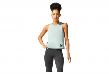 Asics Sakura Camiseta De Tirantes Gris Para Mujer M