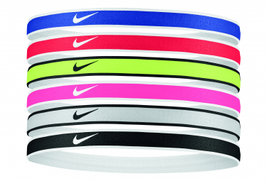 Cinta Para La Cabeza Fina X6 Nike Swoosh Sport Headband 2 0 Multicolor