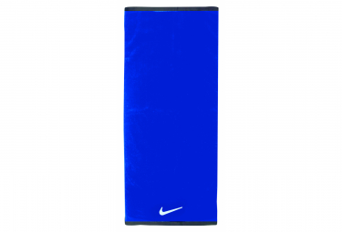 Serviette nike fundamental medium 35 x 80 cm bleu