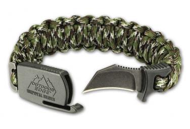 Image of Bracelet tactique outdoor edge para claw camo medium