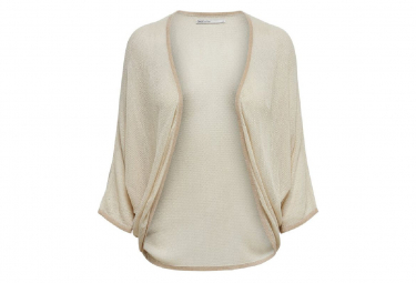 Image of Bolero beige femme only victory l