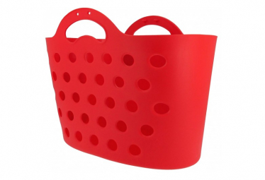Image of Panier trendy one arriere rouge