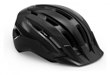Casco Met Downtown Glossy Black 2021 S M  52 58 Cm