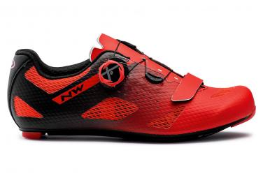 Northwave STORM CARBON Schuhe Rot / Schwarz