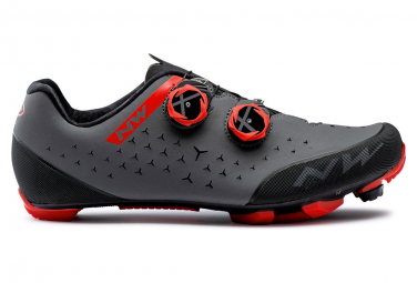 Northwave REBEL 2 Schuhe Grau / Rot