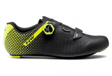 Chaussures Northwave CORE PLUS 2 Noir/Jaune Fluo