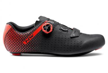 Zapatillas Northwave Core Plus 2 Negro   Rojo 43 1 2