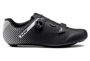 Northwave CORE PLUS 2 Schuhe Schwarz / Silber