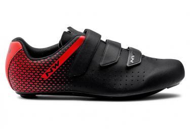 Zapatillas Northwave Core 2 Negro   Rojo 47
