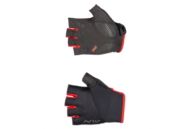Guantes Northwave Fast Negro   Rojo L