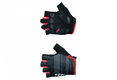 Northwave Active Orange / Black Short Gloves