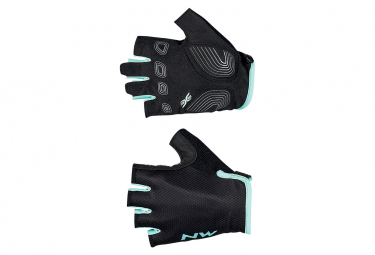 Guantes Northwave Active Mujer Negro   Azul L