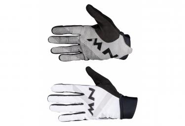 Northwave Extreme Full Finger Short Guantes Blanco   Negro M