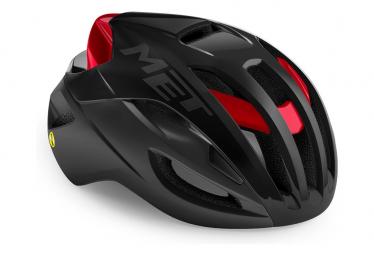 Met Rivale Mips Helmet Black Red Metallic Matte Shiny 2021
