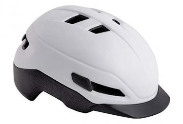 MET Grancorso Helm glänzend weiß reflektierend
