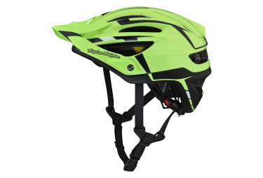 Casco Troy Lee Designs A2 Mips Silver All Mountain Verde   Gris 2021 S  54 56 Cm