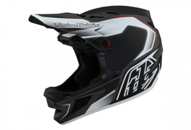 Troy Lee Designs D4 COMPOSITE EXILE Integral Helmet Black 2021