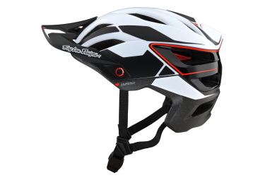 Casco Troy Lee Designs A3 MIPS PROTO All Mountain Bianco / Nero / Rosso 2021