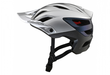 Casco Troy Lee Designs A3 MIPS UNO All Mountain Argento / Blu / Nero 2021