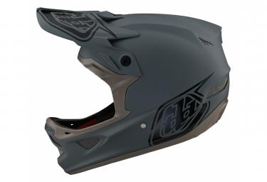 Troy Lee Designs D3 FIBERLITE Integral Helmet Turquoise Gray 2021
