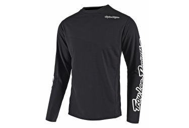 Troy Lee Designs Sprint Camiseta Para Ninos Negro Kid M