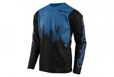 Maillot Manches Longues Troy Lee Designs SKYLINE DIFFUZE Bleu/Noir