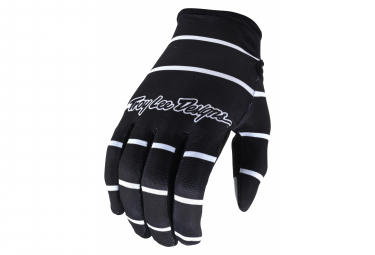 Gants Troy Lee Designs FLOWLINE STRIPE Noir