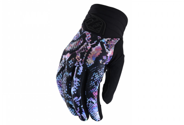 Guantes Largos Troy Lee Designs Luxe Snake Multi Para Mujer S