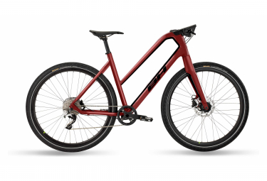 Bicicleta de ciudad Fitness BH Silvertip Jet Shimano Deore XT 10V 700 mm rojo 2021