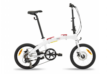 Vélo Pliant BH Ibiza Sport Shimano Tourney 8V Blanc 2021