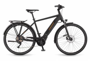 Bicicleta Híbrida Eléctrica Winora Sinus i10 700 Noir