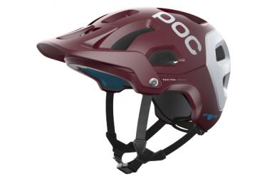 Casco MTB Poc Tectal Race Spin Rosso / Bianco opaco 2021