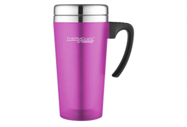 THERMOS Soft touch travel mug isotherme - 420ml - Rose
