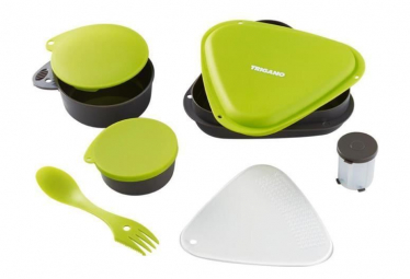 Image of Trigano lunch box vert et noir