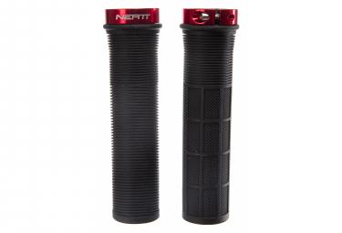 Paire de Grips Neatt One Lock Pro Noir / Rouge