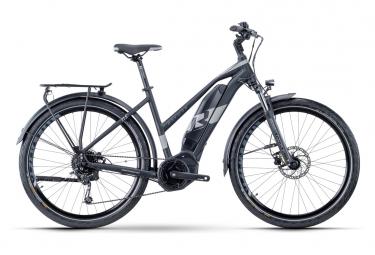 Bicicleta Híbrida Eléctrica R Raymon TourRay E 3.0 Lady 27.5'' Noir / Gris