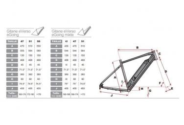 VTC électrique Trekking e-VERSO Silex - Série limitée - Gitane