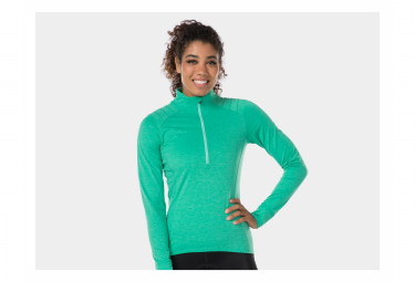 Camiseta de manga larga Bontrager Vella Thermal Miami para mujer verde