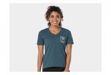 Camiseta Bontrager Evoke Tech Battleship Blue Crew Xs