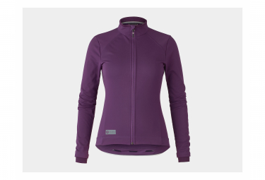 Giacca Bontrager Velocis Softshell da donna Mulberry / Purple
