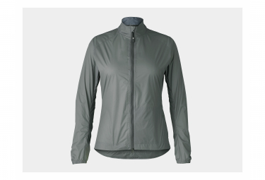 Chaqueta Impermeable Bontrager Circuit Para Mujer Solid Charcoal   Grey S