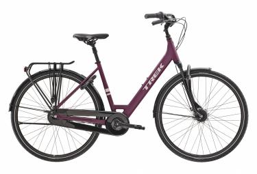 Bicicletta da città Trek District 2 Lowstep Equipped Shimano Nexus 7S Matte Mulberry 2021