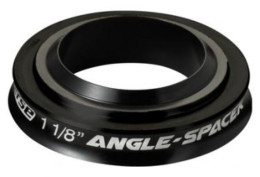 Entretoise de Fourche Reverse Angle Spacer 1-1/8' 10mm Noir