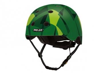 Casque MELON Mosaique - Green Mamba M-L (matte)