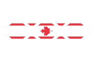 Image of Autocollant drapeau canada