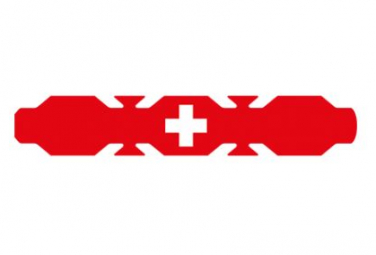 Image of Autocollant drapeau suisse